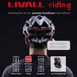Livall smarter Fahrradhelm (Bluetooth)